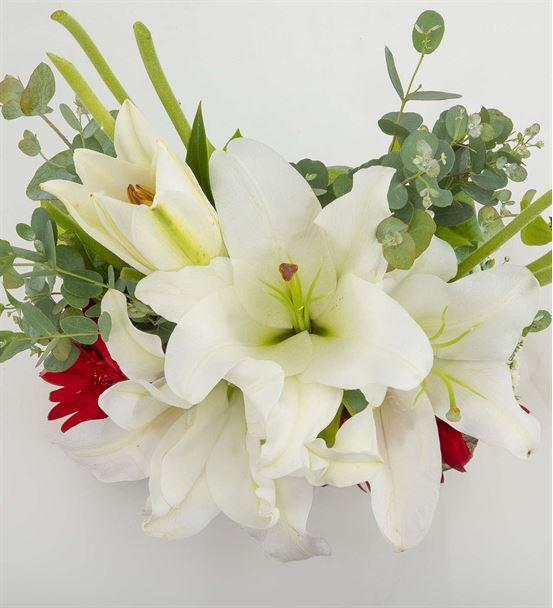 Flaminio Kokulu Çiçek Aranjmanı