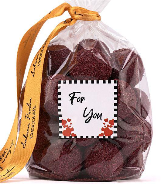 For You 300 Gr Frambuazlı Trufel Çikolata