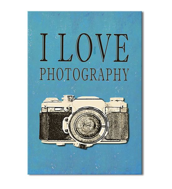 Fotoğraf Makinası Serisi A Kanvas Tablo 60x90 cm