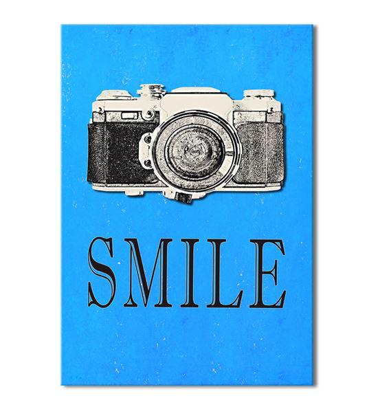 Fotoğraf Makinası Serisi B Kanvas Tablo 75x100 cm