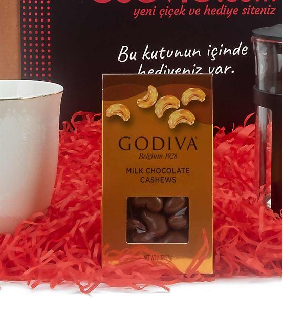 Godiva Çikolatalı Yılbaşı Hediye Kutusu