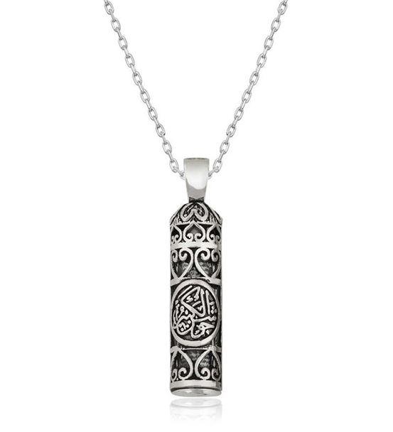 Gümüş Cevşen-ül Tasarımlı Kebir Kolye