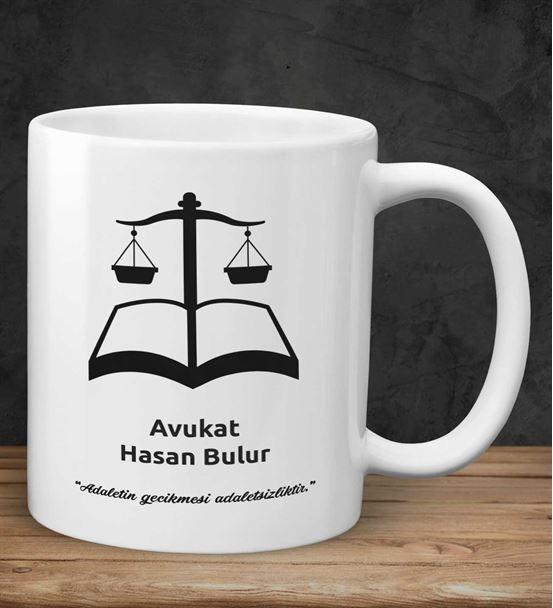 Kişiye Özel Avukat Kupa