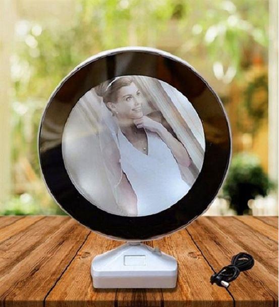 Kişiye Özel Fotoğraflı Sihirli Ayna