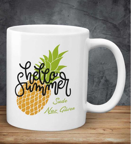 Kişiye Özel Hello Summer Kupa