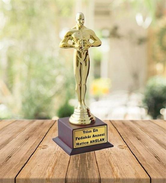 Kişiye Özel İsim Baskılı Oscar Ödülü