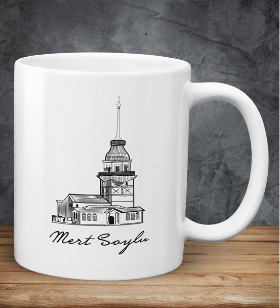 Kişiye Özel Kız Kulesi Kupa