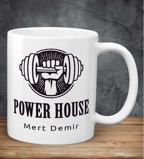 Kişiye Özel Power House Kupa