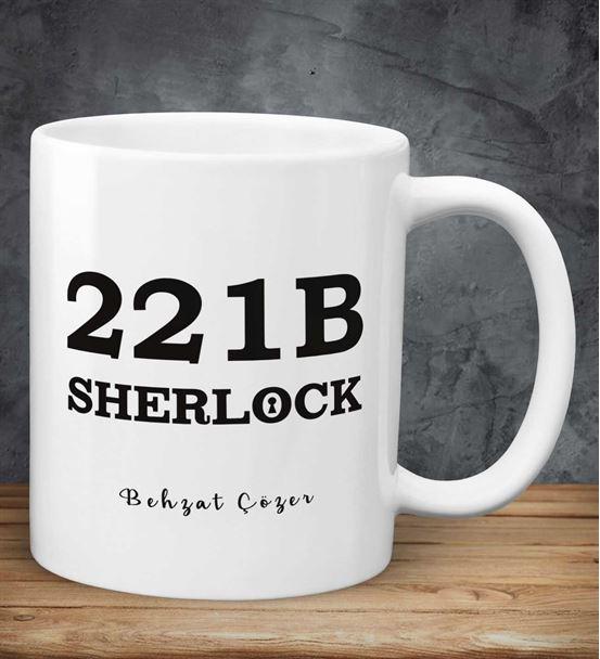 Kişiye Özel Sherlock Kupa