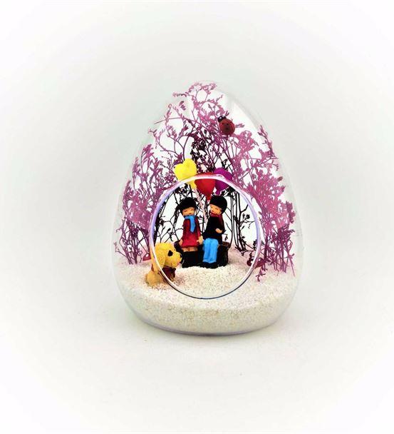 Küçük Yumurta Bankta Oturan Çift-Kym0006