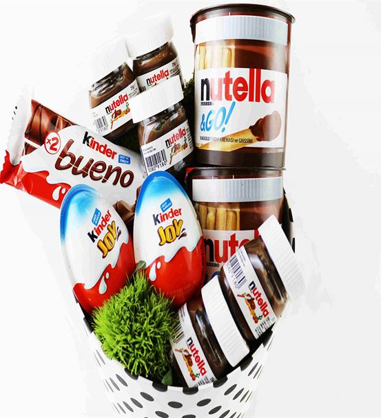 Kutu İçerisinde Greentrick,Nutella ve Kinder