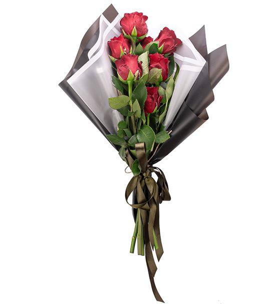 Love You Serisi Kırmızı Gül Tasarım