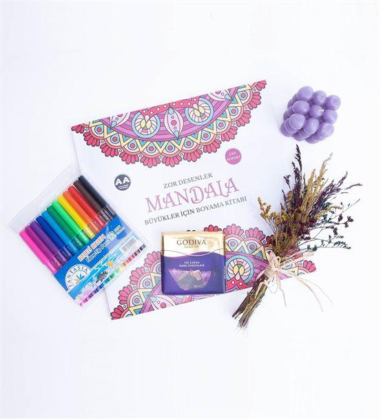 Mandala Boyama Hobi Serisi Hediye Kutusu