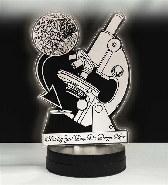 Mikroskop Modeli Led Lamba