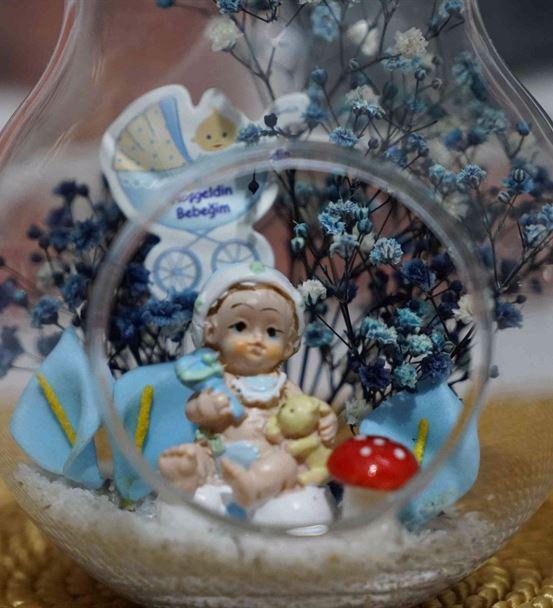 Mini Armut Erkek Bebek Hoşgeldin Bebeğim-Ebama0107