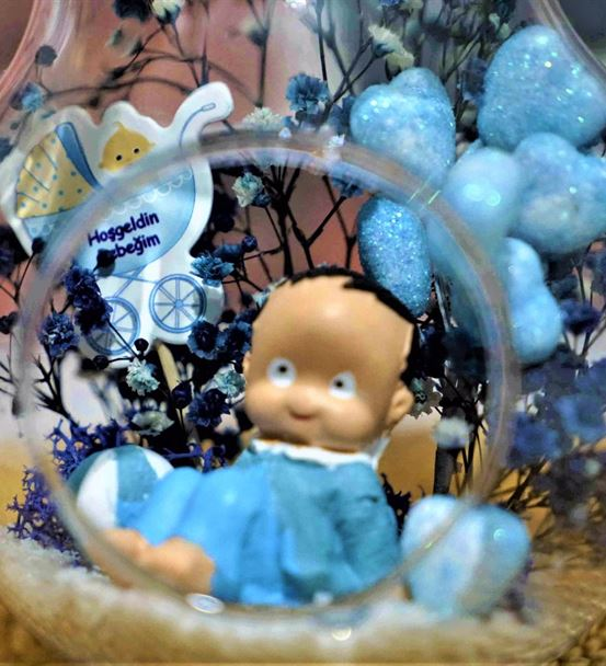 Mini Armut Top Oynayan Erkek Bebek-Ebama010
