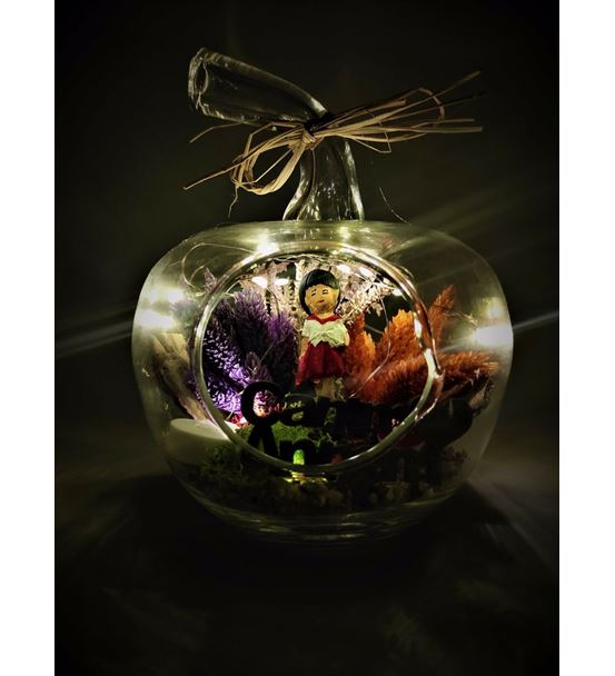 Mini Elma Işıklı Canım Annem 2-Ebame0054