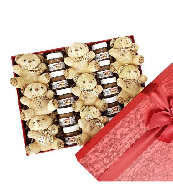 Minik Nutella Ayıcık Hediye Sepeti