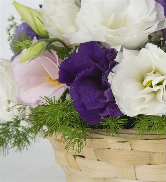 Mutlu Düşler Çiçek Sepeti