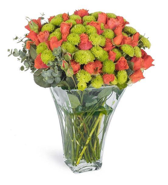 Mutluluk Meltemi Çiçek Aranjmanı