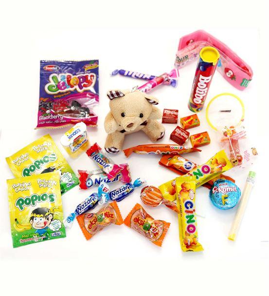 Nostaljik Şekerlemeli Ayıcık Kutusu