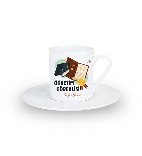 Öğretim Görevlisine Hediye Kahve Fincanı