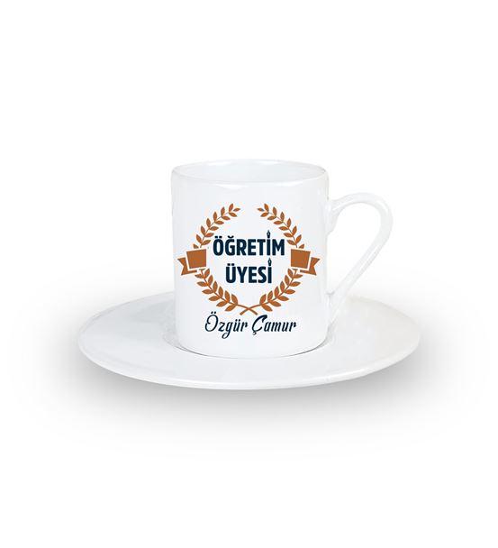 Öğretim Üyesine Hediye Kahve Fincanı