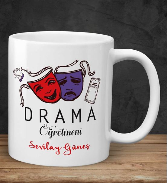 Renkli Drama Öğretmeni Kupa