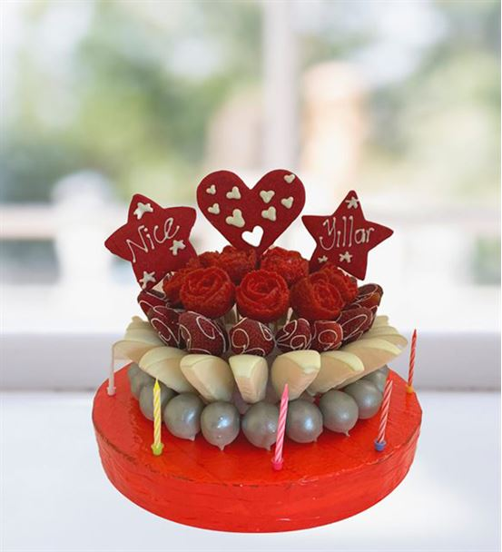 Samanyolu kek buketi