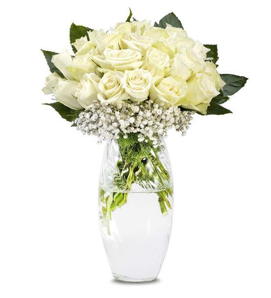 Sensiz Olmaz 25 Beyaz Güller