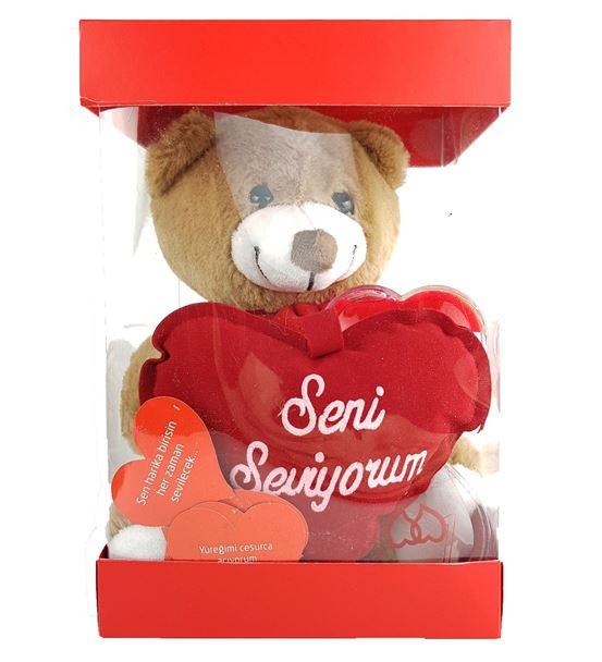 Sevgililer Günü Hediyesi Sevimli Ayıcık Hediye Sep