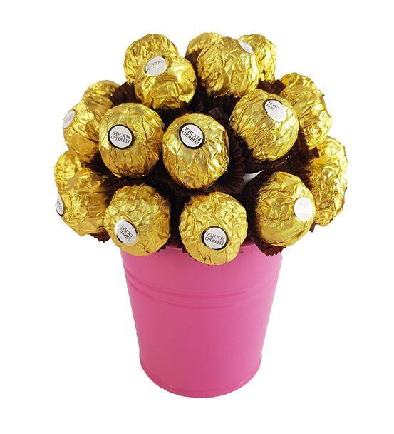 Sevgiliye Hediye Ferrero Çikolara Sepeti