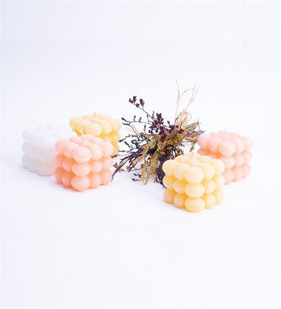 Soft Renkli Bubble Mum Hediye Seti 3