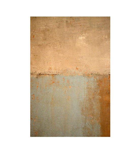 Soyut  Altın Mavi Kanvas Tablo 35x50cm