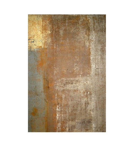 Soyut Altın Mavi Geçişli Kanvas Tablo 35x50cm