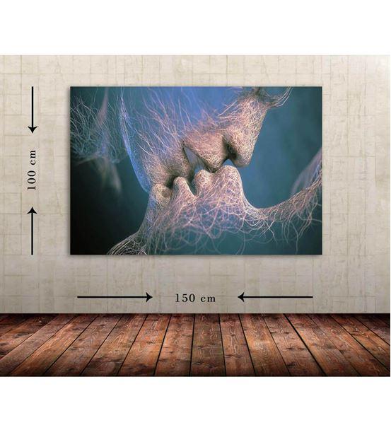 Soyut Büyük Boy  Kanvas Tablo 100x150 cm