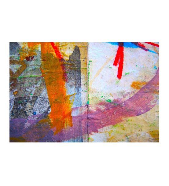 Soyut Rengarenk Kanvas Tablo 35x50cm
