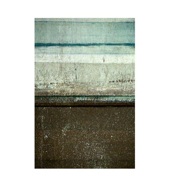 Soyut Yeşil Yatay Kanvas Tablo 35x50cm