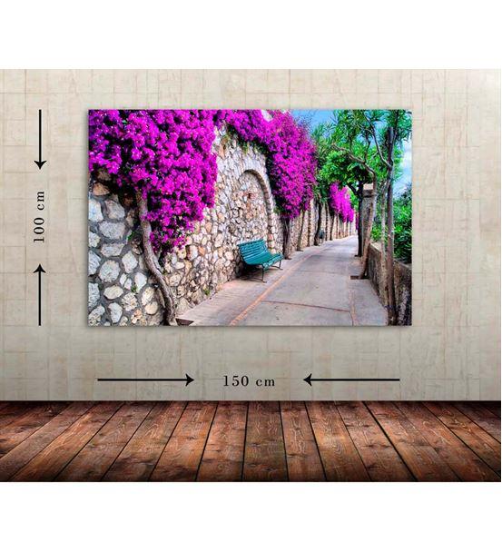 Taşlı Yol Büyük Boy  Kanvas Tablo 100x150 cm