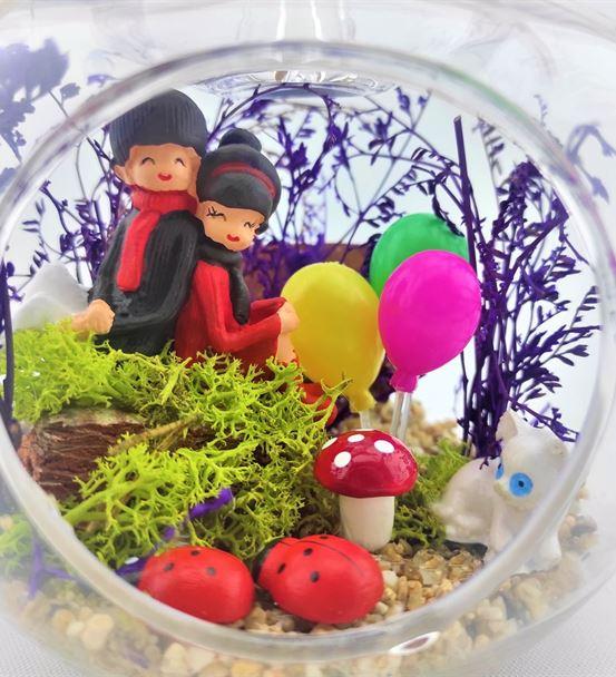 Teraryum Sırt Sırta Sevgili Yıl Dönümü-Ebame0110
