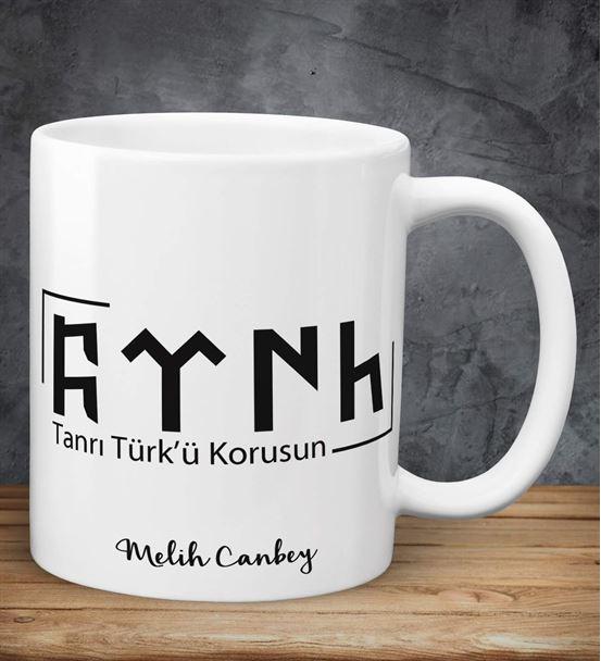 Türk Yazılı Kişiye Özel Kupa