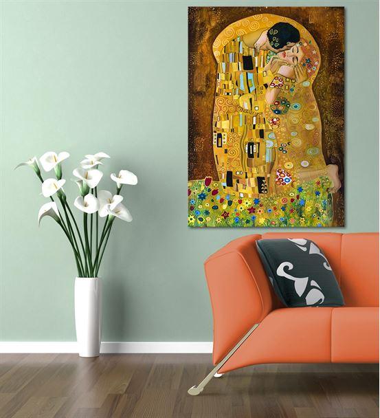 Vuslatın Renkleri Kanvas Tablo 35x50 cm