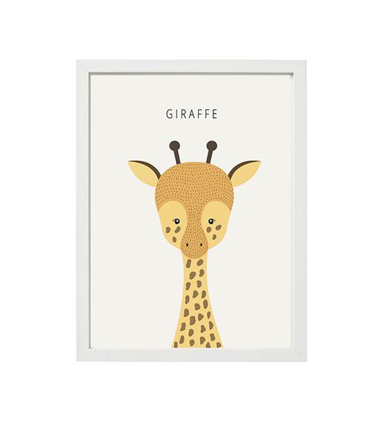 Zürafa Tekli Çerçeve Seti