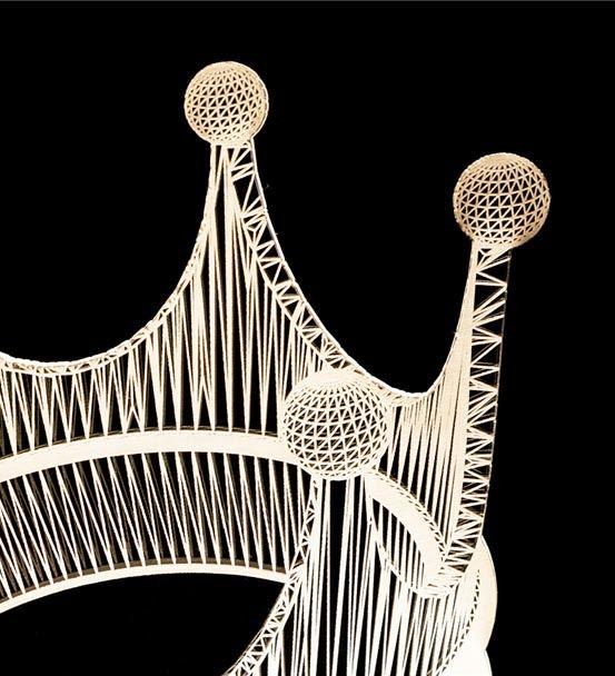 Arkadaşa Hediye Kral Tacı Tasarımlı 3D Led Lamba