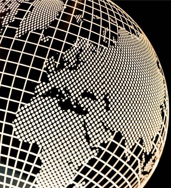 Dünya Haritası Tasarımlı 3D Led Lamba