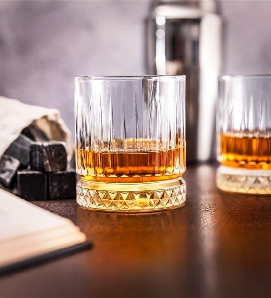 İsme Özel Ahşap Kutulu Glasgow 2'li Viski Kadeh Se
