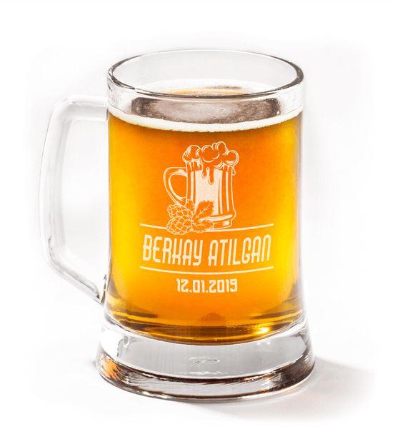 İsme Özel Bira Bardağı