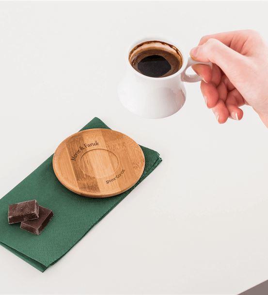 İsme Özel Türk Kahve Fincan Seti