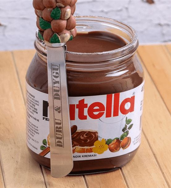 Kişiye Özel Nutella Sürme Bıçağı Ve Nutella