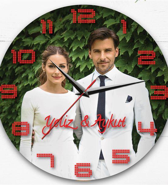 Sevgiliye Duvar Saati Hediyesi